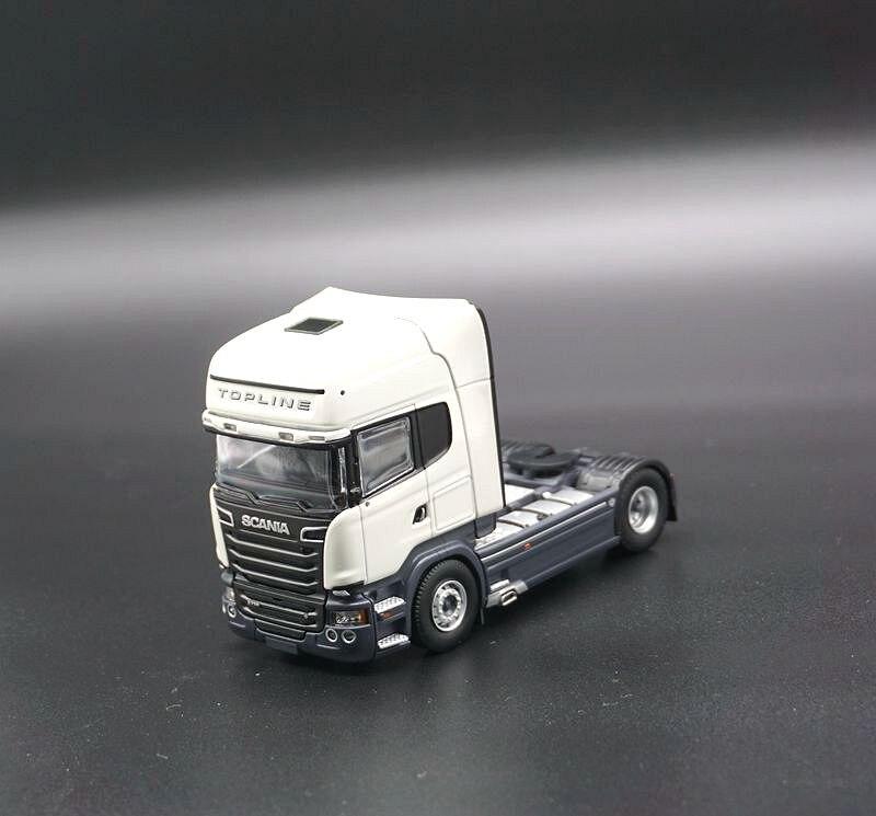 1/50-TEKNO TOPLINE SCANIA R730 SERVICES-Métal-Remorque DE transport de VOITURE Camion-modèle