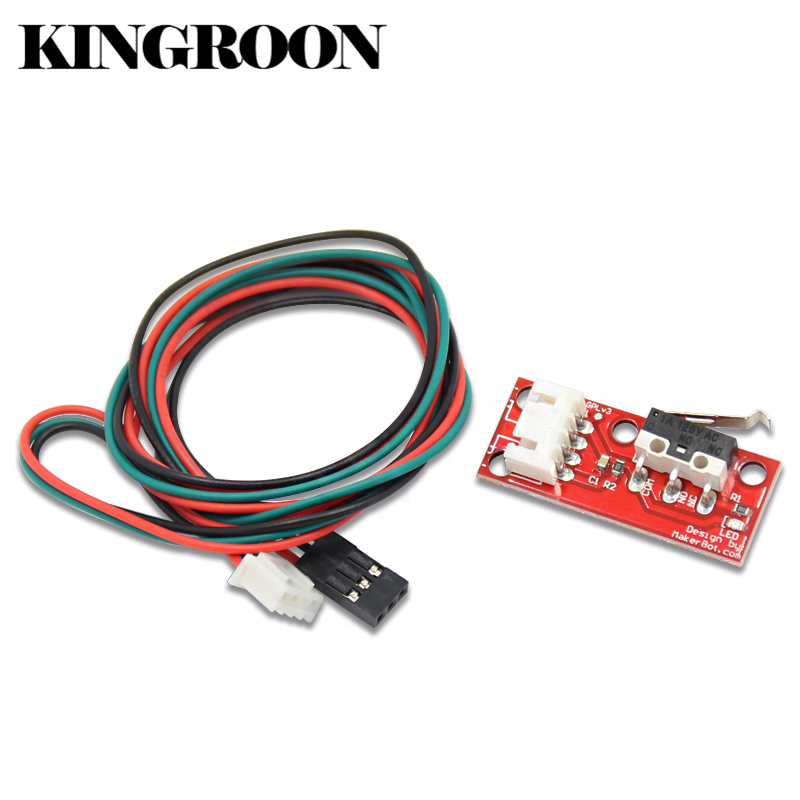 Endstop Mechanical Limit Switches with 3 Pin 70cm Cable For RAMPS 1.4 Control Board Part Switch Accessories 3D Printers Parts freeshipping 5pcs lot endstop mechanical limit switches 3d printer switch for ramps 1 4