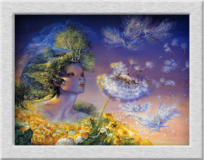 Josephine Wall Fantasy Mythology Series HD Canvas Oil Paintings Home Decorative Romantic Art Festival Gifts No Frame
