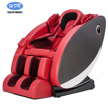 Healthforever Brand Head airbag Shiatsu Kneading India Thailand Cheap Electric Full Body Massage Chair 3d Zero Gravity red color