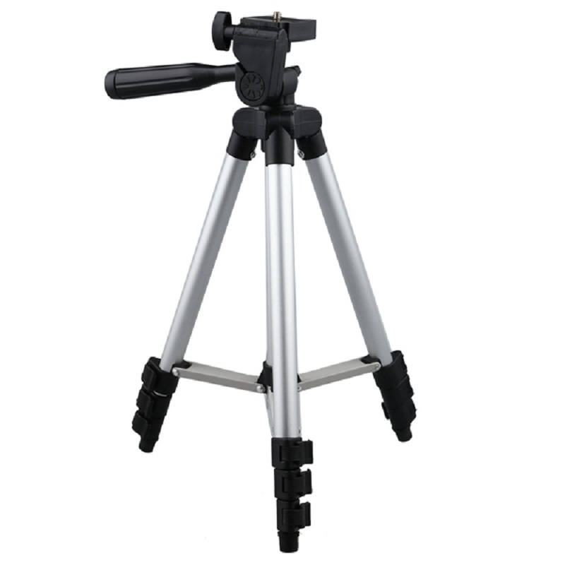 Treppiede professionale 3110 In lega di Alluminio treppiedi di macchina fotografica digitale macchina di carta treppiede stand DV treppiede cellulare Selfie basamento