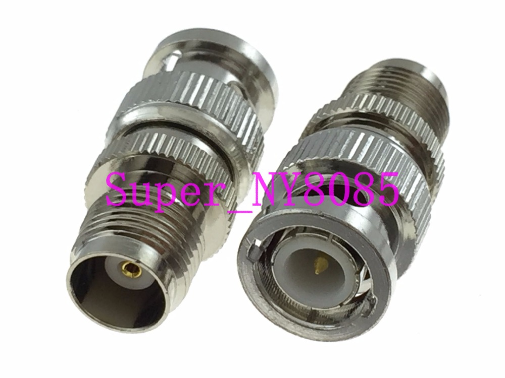 1pce Adapter BNC male plug to TNC female jack RF connector straight M/F1pce Adapter BNC male plug to TNC female jack RF connector straight M/F