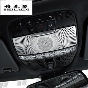 Автомобильный Стайлинг для Mercedes Benz C Class W205 GLC X253 Чехлы для чтения наклейки отделка украшение крыша интерьер авто аксессуары