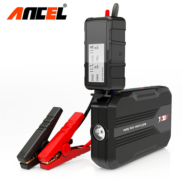 Original Ancel Mini Mulit Function Emergency Battery Charger Portable Mini Car Jump Starter Booster Power Bank