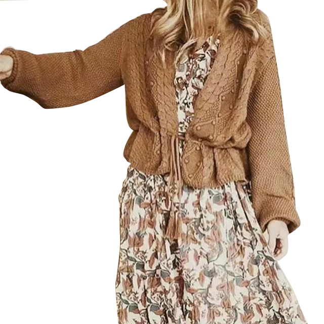 2447443d3e9e Boho women cardigan sweater 2017 new fall winter long sleeve belt up short coat  chic Casual warm knitted brand sweaters outwear