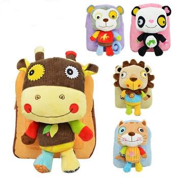 SOZZY baby kid backpack shoulder bag snack package for children 2-5 years old Plush Backpacks YYT189-YYT193 toys for 2 month old