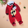 Baby Rompers Footed Autumn Girls Clothing Set Christmas Newborn Baby Clothes Roupa Bebe Winter Baby Boy Clothes Infant Jumpsuits