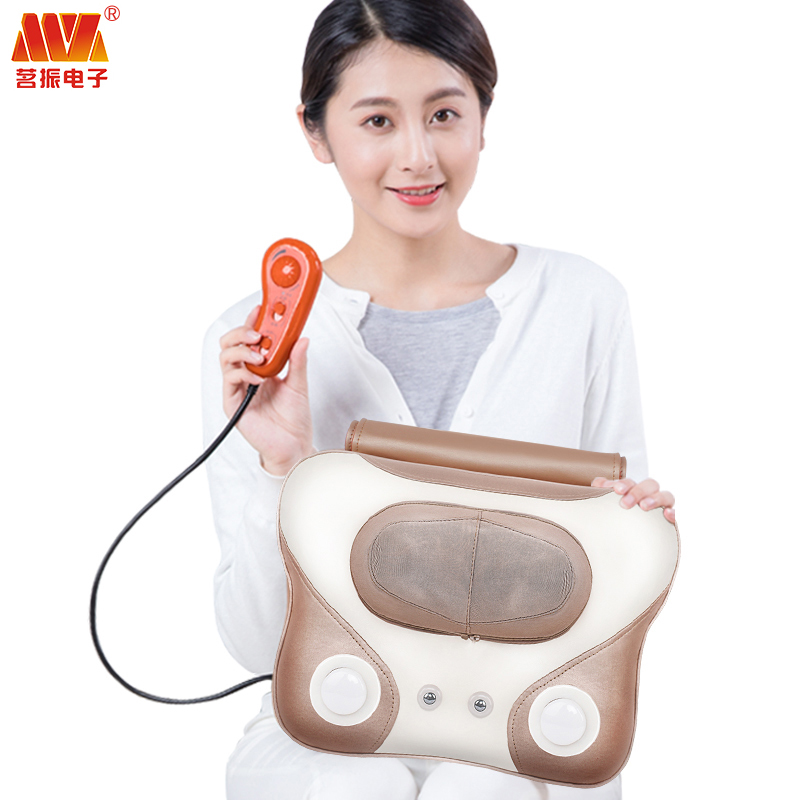 Body vibrator Massager almofadas Relieve Stress Pain fisioterapia massageador Acupuncture Pillow Shoulder and neck free Shipping наволочки almofadas decorativas 4 45x45cm cojines page 9