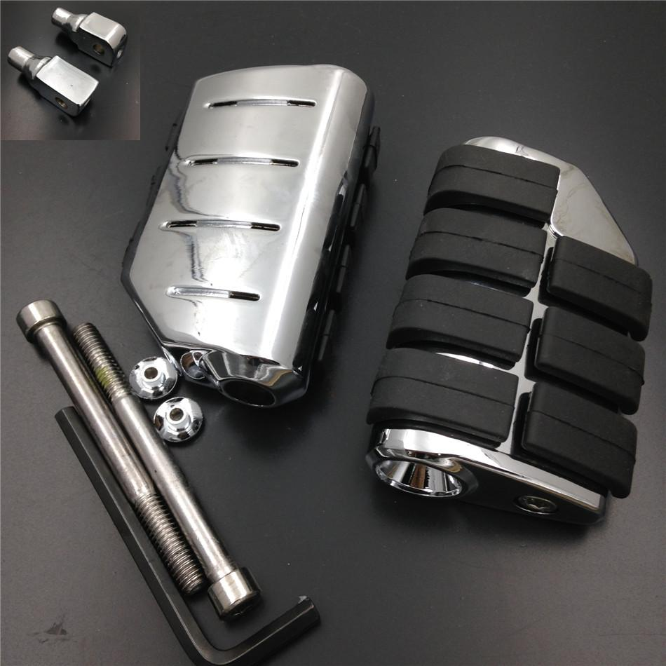 Aftermarket free shipping motorcycle parts For Motorcycle Suzuki Intruder LC Boulevard S83 C90 Marauder 800 Rubber Rear Foot Peg Мотоцикл
