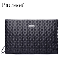 2016 Hot Sale Genuine Leather Clutch Bag For Men Fashion Brand Real Cowhide Top Quality Bags