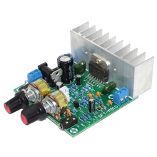 TDA7297 15W+15W 2.0 Finished Stereo Amplifier Board 2-Channel Pre-amplifier MP3 with Microphone Free Shipping 12002595 free shipping assembled tda7294 2 1 channel deluxe upgrade amplifier board with horn protection