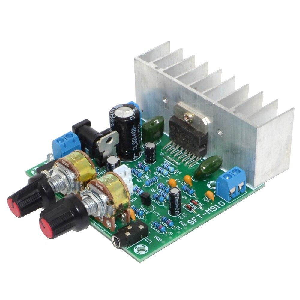 Tda7297 15 W + 15 W 2.0 terminado estéreo Amplificadores tablero 2 CANAL DE Amplificadores MP3 con micrófono el envío libre 12002595