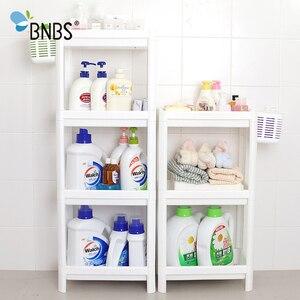 Image 4 - BNBS ห้องน้ำ Organizer ชั้นวาง Over ห้องน้ำผู้ถือชั้นวางสำหรับห้องครัวอุปกรณ์จัดเก็บชั้นวางตะกร้าเก็บอุปกรณ์เสริม