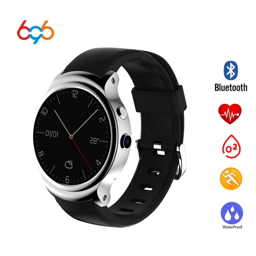 696 I3 Smart Watch MTK6580 Android 5.1 Wristband SIM Card Support 3G wifi GPS Browser Google play Heart Rate Monitoring For IOS image
