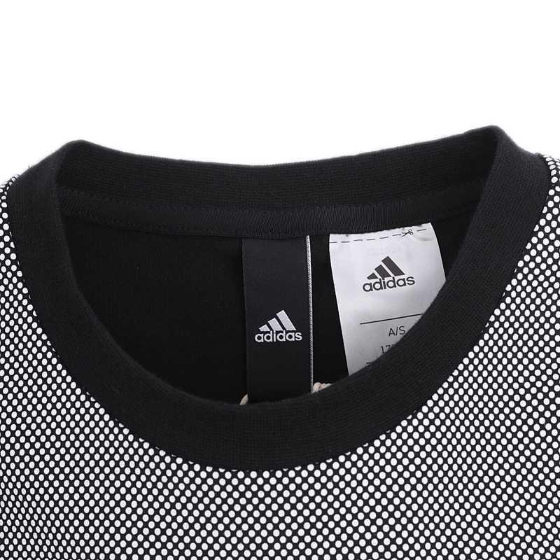 オリジナル新到着アディダス GFX Tシャツ 3 s NO3 男性の Tシャツ半袖スポーツウェア