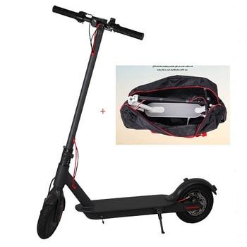 Moscú Stock Scooter Mini 2 ruedas Scooter eléctrico inteligente patín tabla plegable adulto Hoverboard 30km de vida con bolsa plegable