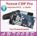А ++ качество 2014. R2 серийник подарок в CD один печатной платы TCS CDP Pro с Bluetooth CDP машины + грузовиков общий 3in1 перевозка груза