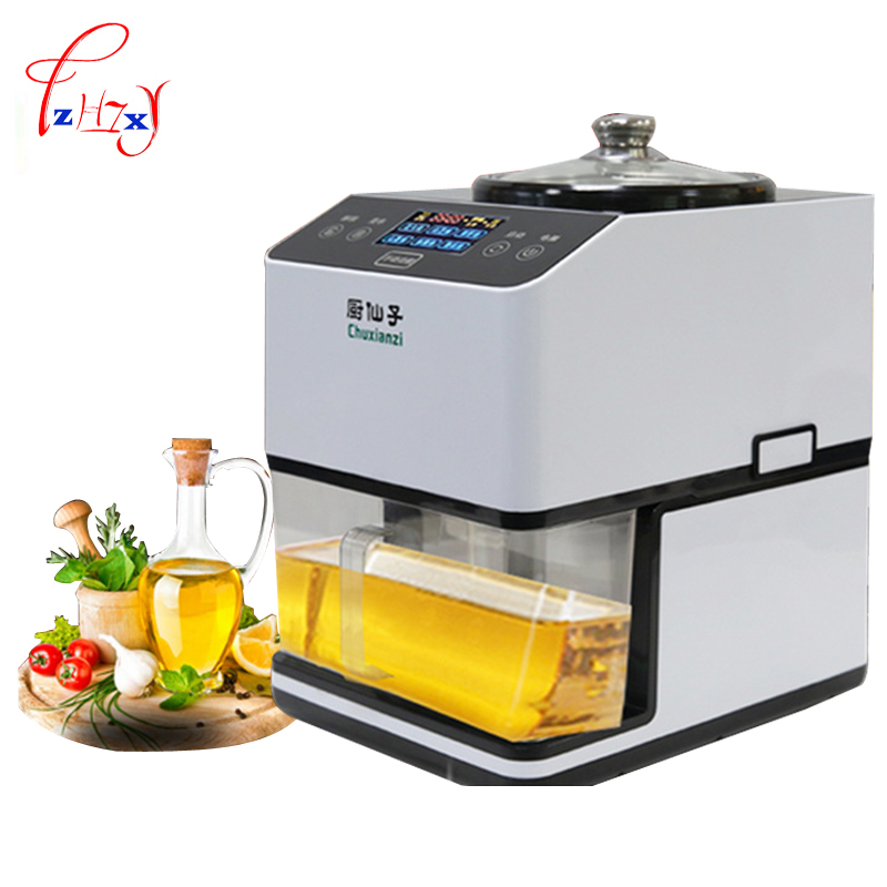 stainless steel DIY oil press machine Hot cold Oil Pressers 12000r/min sesame/peanut/ sunflower seeds oil extractor JNZ-A-01 automatic nut seeds oil expeller cold hot press machine oil extractor dispenser 350w canola oil press machine