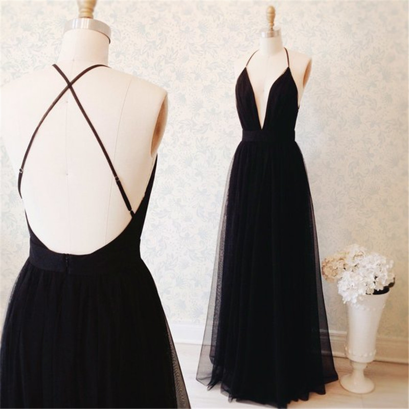 abendkleider 2018 Backless robe de soiree Halter Straps Vestido de festa longo Backless Long   evening     dresses   for women