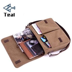 Men bag Men's Briefcase canvas