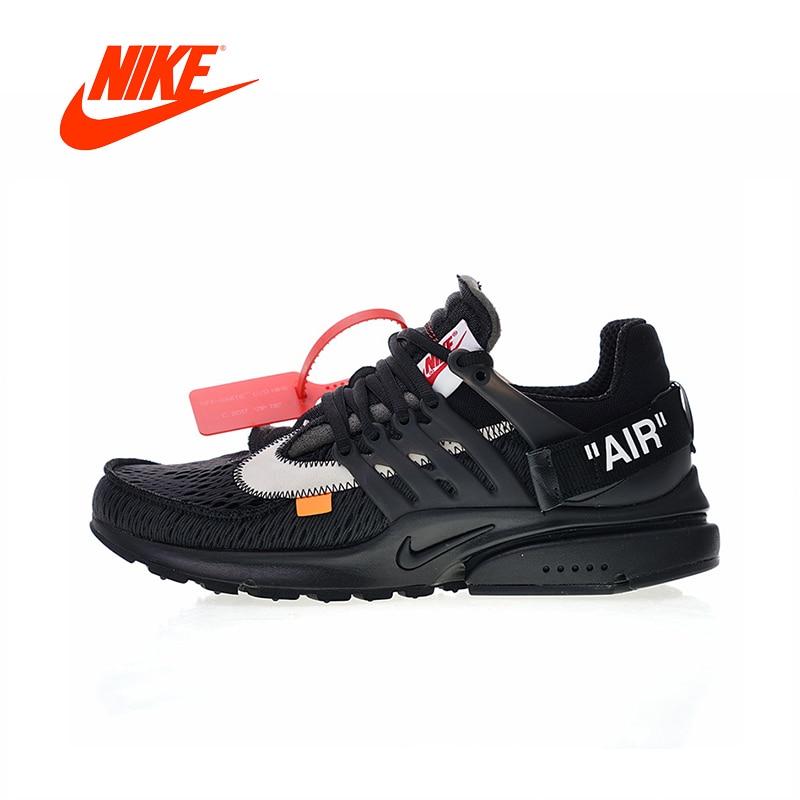 Novedad Original auténtico fuera de blanco x Nike Air Presto 2,0 zapatillas de correr para hombre zapatillas de buena calidad AA3830-002
