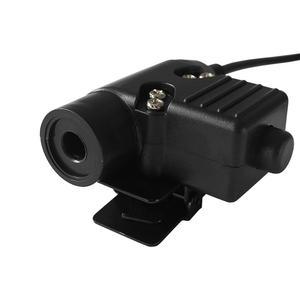 Image 4 - Переходник для военной гарнитуры, тактический PTT U94 PRC PTT, 6 контактный PTT U94 для AN / PRC 152 152A 148, виртуальная крышка