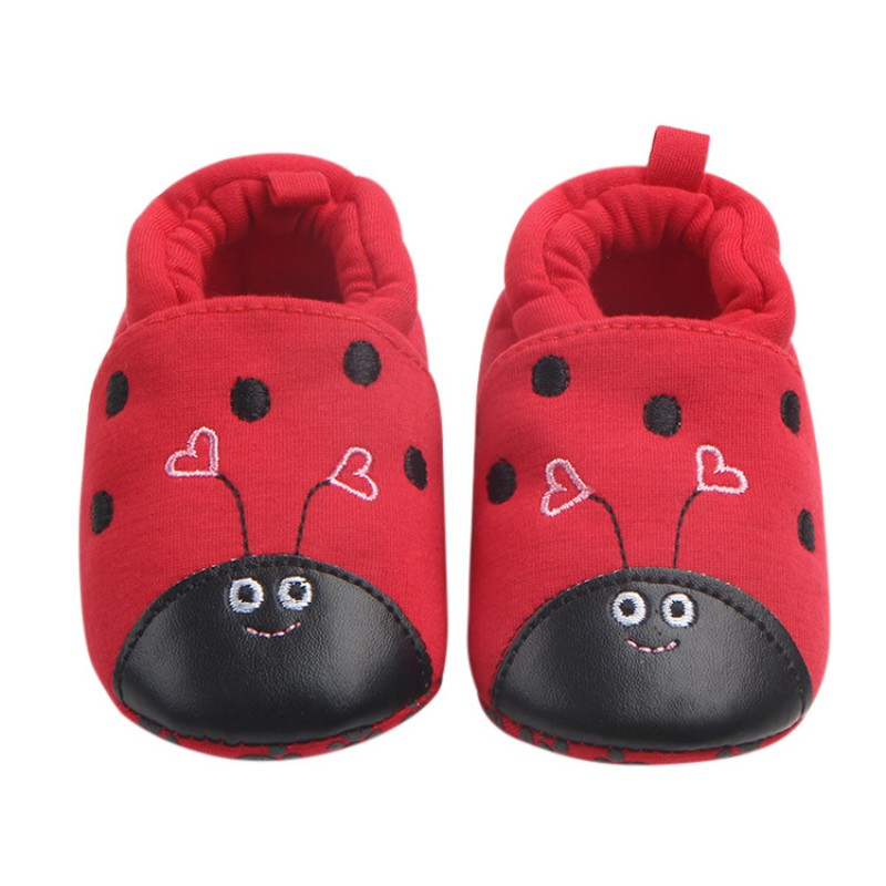 2018 Autumn Winter Knitted Cotton Cloth Baby Lovely Shoes First Walkers Cute Baby Girls  ...