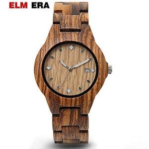 ELMERA wooden watches women re