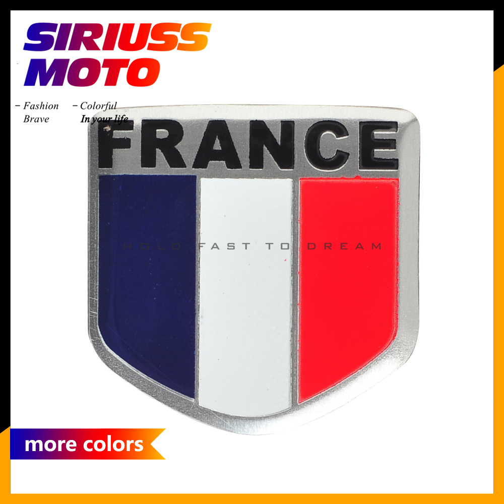 3D Motorcycle Sticker Motobike Decals France Flag Stickers Car Tailstock Tail Germany England Brazil Stickers