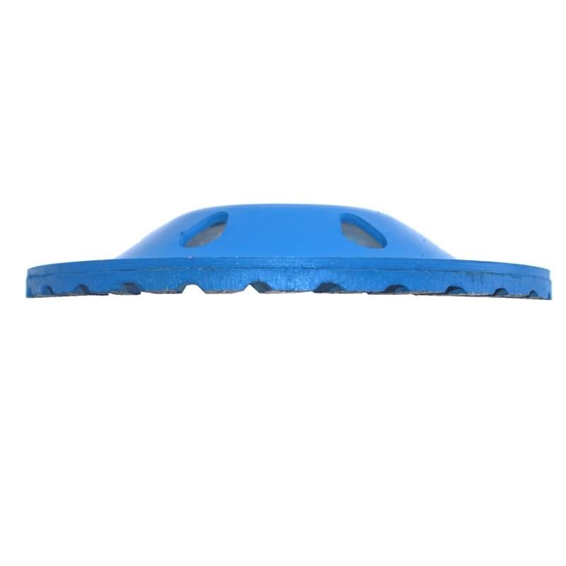 100 mm segmentinis turbo puodelio šlifavimo diskas Diskinės dubens - Medienos apdirbimo mašinų dalys - Nuotrauka 5