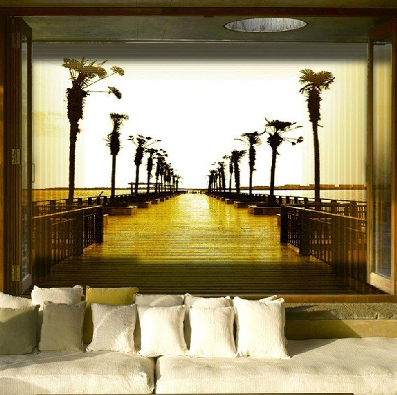 Free Shipping Fashion 3d Wallpaper Nice Road Wall Murals NEW ARRIVALS  Aliexpress Com Buy Free. Part 61