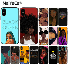MaiYaCa Colorful art african girl Printing Soft Silicone TPU Phone Cover for Apple iPhone  X XS MAX  5 5S SE XR 7 8 6 6S Plus maiyaca colorful art african girl transparent soft shell phone case for apple iphone 7 6 6s plus x xs max 5 5s se xr 8 cover