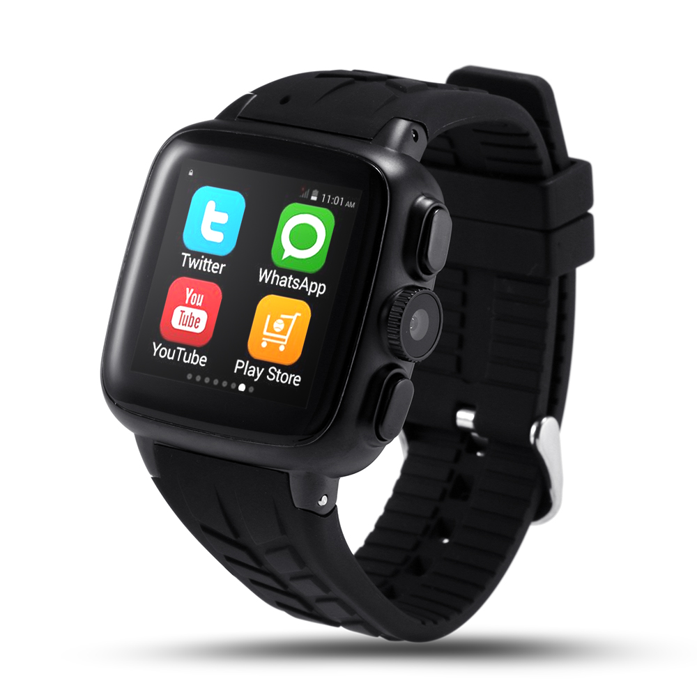 UC08 Android Smartwatch phone with Camera ultra scratch resistant 2 5D screen wristwatch GPS WIFI Bluetooth