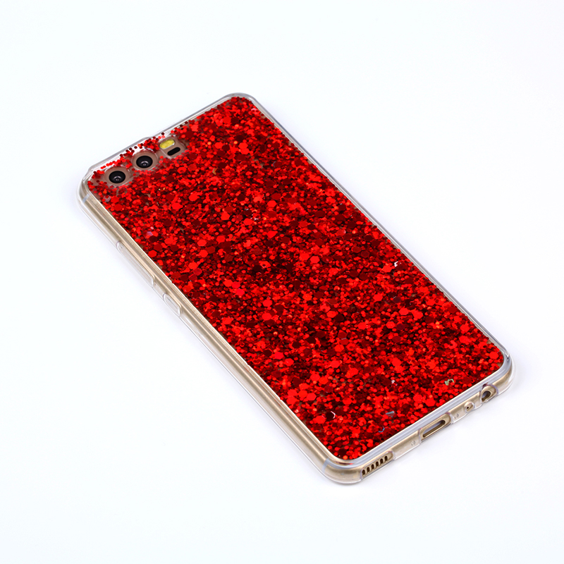 Fashion Glitter Bling Cover för Huawei P10 väska Candy Colourful - Reservdelar och tillbehör för mobiltelefoner - Foto 4