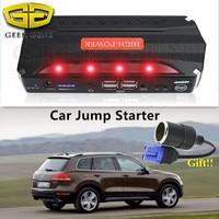 2017 Super Capacity 4USB Power Bank 12V Car Jump Starter Emergency 600A Car Battery Charger Booster
