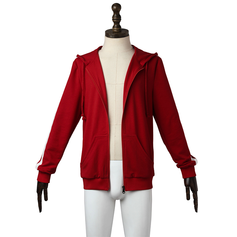 Hot Animation Movie Coco Miguel Rivera Red Jacket Coat Cosplay Costumes New Year Clothing Outfit Halloween Party Custom Made