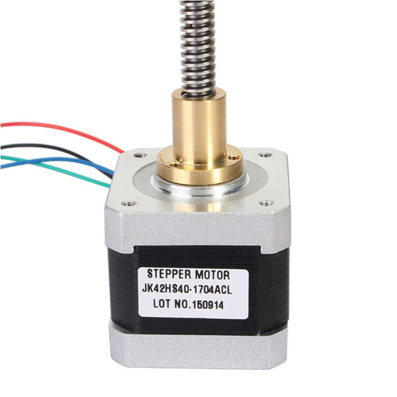 NEMA17 42mm Two Phase Hybrid Linear Stepper Motor 40mm Length For CNC Router New Arrival linear phase bernstein filter for equalized the distorted chrominance