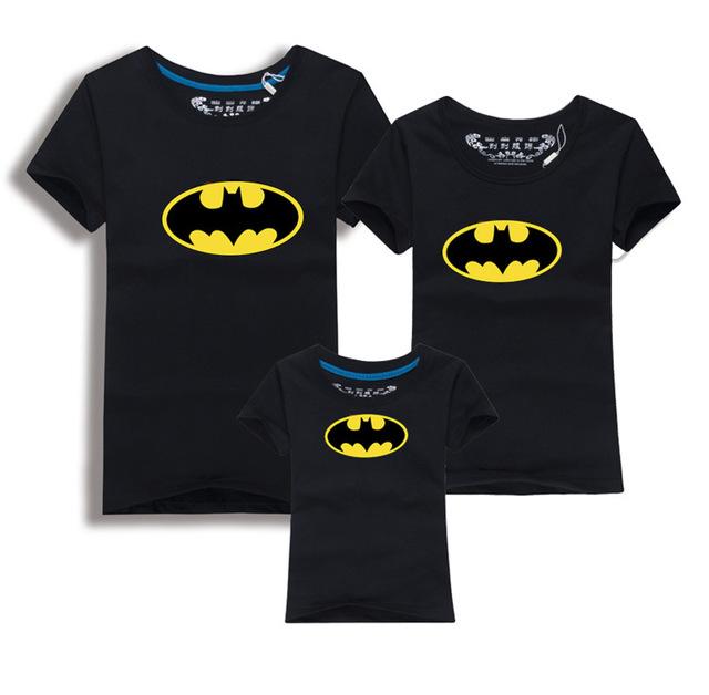 Family Look Batman T-Shirts Summer