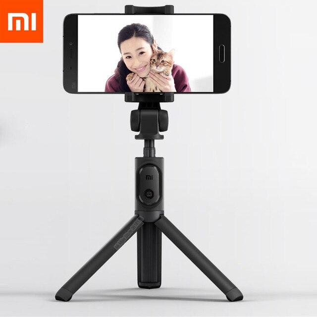 Neueste Xiaomi Einbeinstativ Mi Selfie Stick Bluetooth Stativ Mit Wireless Remote 360 Drehung Flexiable/Verdrahtete Version Android IOS D5