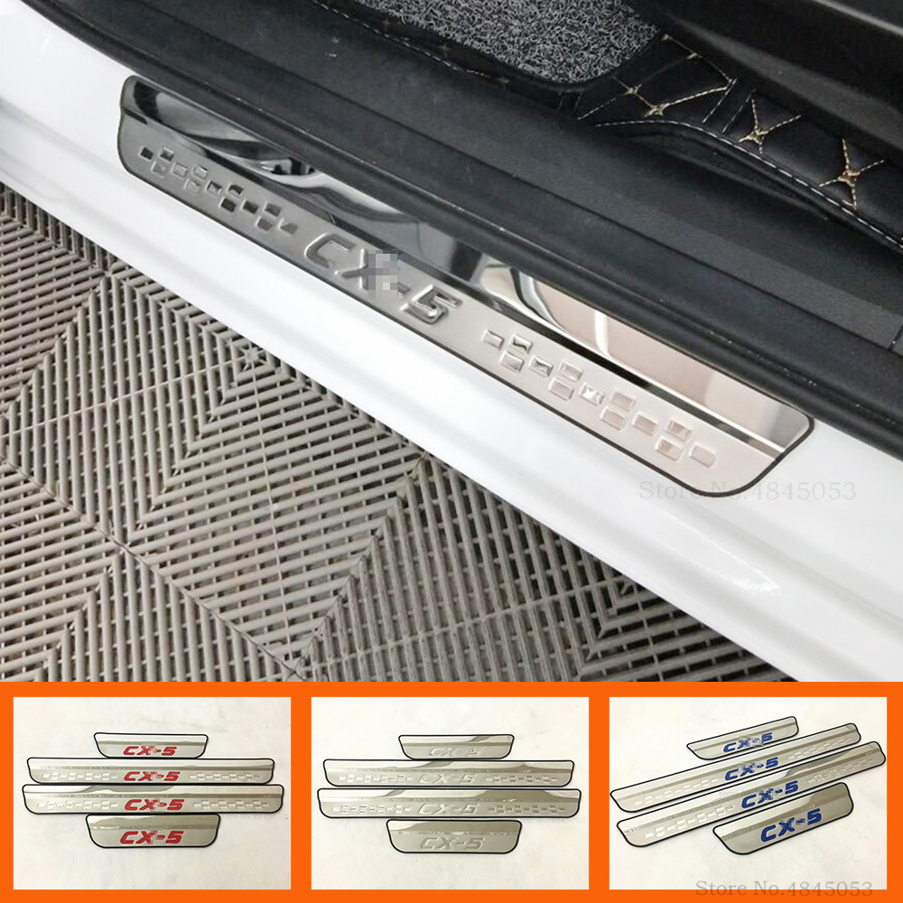 Auto Replacement Parts Car Styling Led Auto Door Sill Protector For Mazda 6 Gh1accessories 2007-2012 Illuminated Door Sills Scuff Plate Guard Threshold Reasonable Price Automobiles & Motorcycles