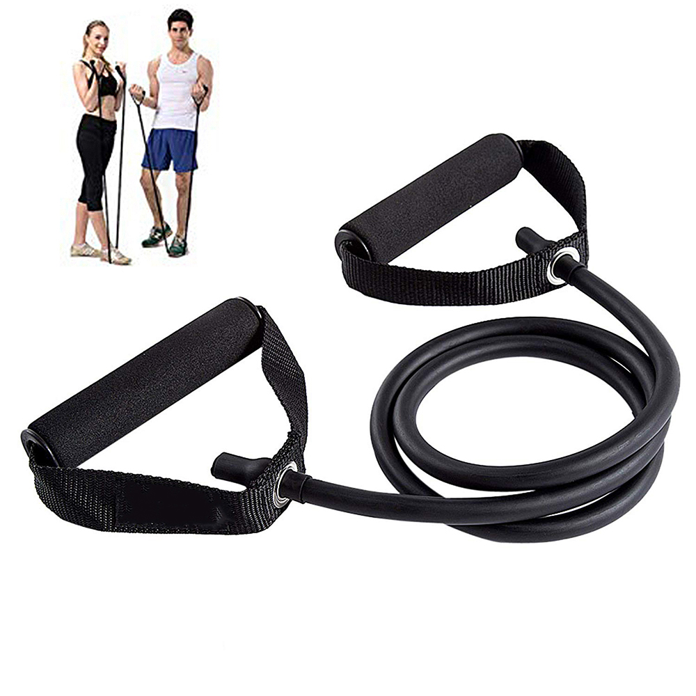 Yoga Pull Rope Resistance Bands Exercise Bands With Handles Pilates Strength Training Tubes Rubber Band Workout Fitness Home Gym