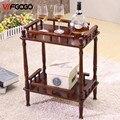 WFGOGO Sostenedores del Almacenaje Multiusos estante de Exhibición Estante Estante de la Esquina de Mesas de Café Elección Productos Muebles De Consolas