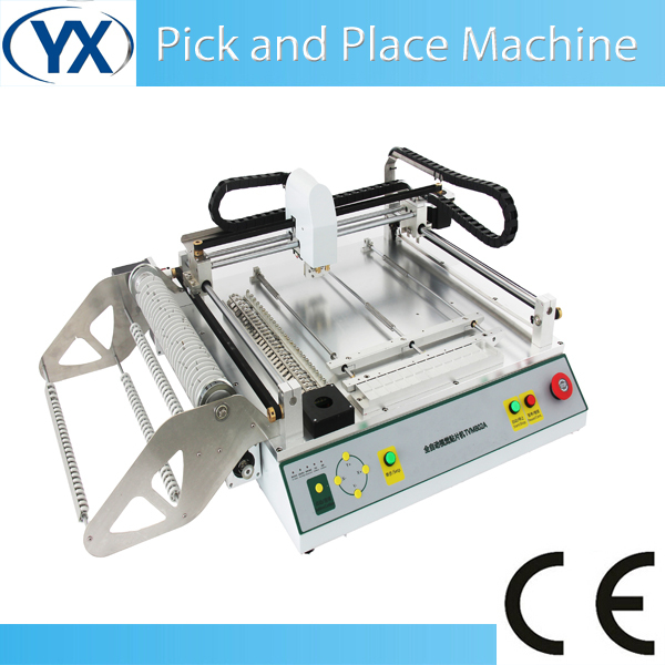Mounter Desktop Small Production Machine Lighting Equipment Smd Smt Pick and Place Mounting Machine TVM802A