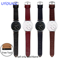 For withings Activite Steel/Pop Quality Genuine Leather Strap On For Hours 18mm withings Replacement Leather Watch bands