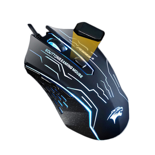 Wholesale Suppion New 3200 DPI LED Optical 6D USB Wired Gaming Game Mouse For PC Laptop Game Wholesale