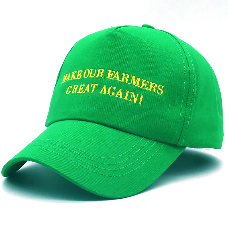 ca1a4c7ed11 Detail Feedback Questions about New Trump hat MAKE OUR FARMERS GREAT AGAIN  embroidery baseball cap adjustale cotton green trump caps GROWING AMERICA  casual ...