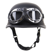 2018 high quality Authentic Restoring ancient ways Harley motorcycle helmet outdoor cycling helmet DOT certified with glasses