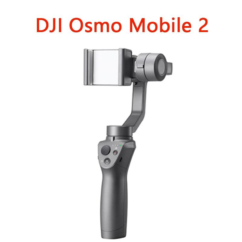 Osmo Mobile 2 3-Axes De Poche Stabilisateur pour Smartphone DJI OSMO Mobile 3-axe cardan Stent Commande De Zoom panorama