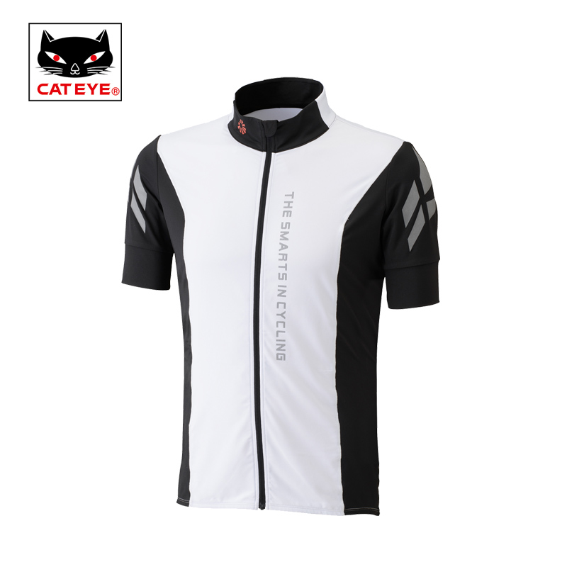 CATEYE Men Cycling Jersey Outdoor Sport Bike Breathable Summer High Elastic Pro Bicycle Short Sleeves MTB Clothing Shirts Jersey cheji men original camouflage green cycling jersey mtb outdoor breathable bike short sleeve clothing bicycle jersey s 3xl