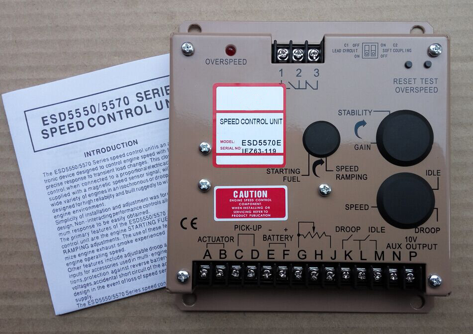 Electronic Speed Governor ESD5570e Speed control unit ESD5570 Generator controller generator speed controller 3098693